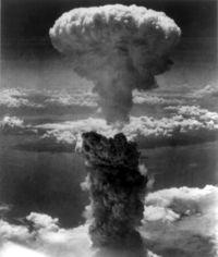Explosión atómica de Nagasaki