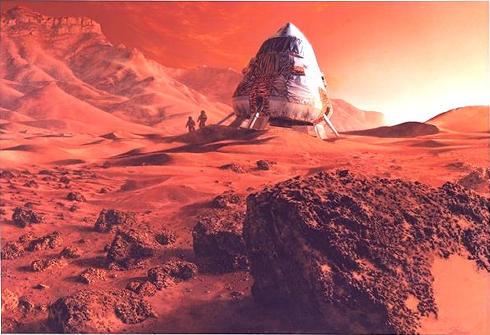 Habitat en Marte