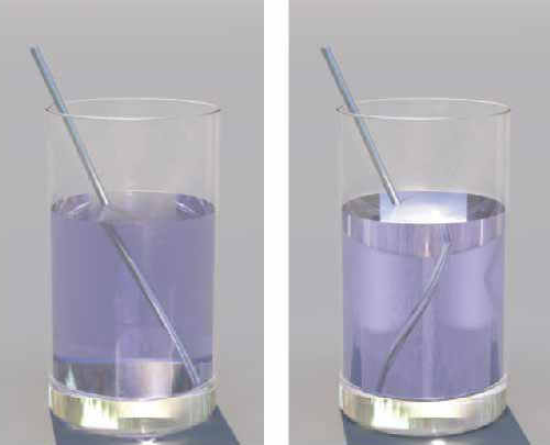 Negative-index refraction material