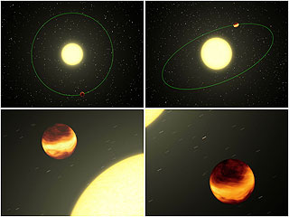 Weather on Distant Worlds - NASA/JPL-Caltech/R. Hurt (SSC)