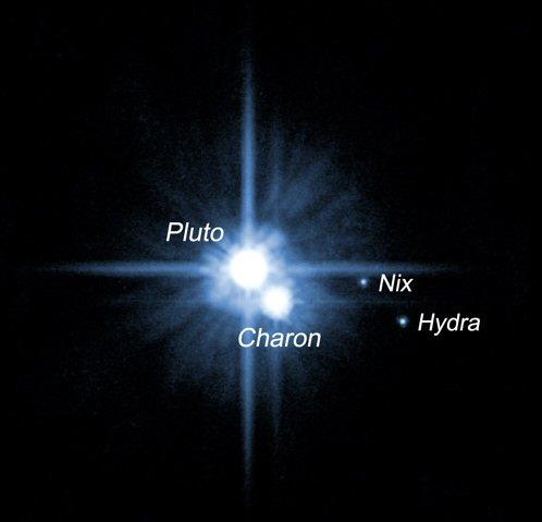 Pluto Charon Nix Hydra