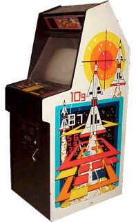 Missile Command Cabinet