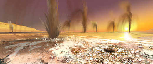 Mars polar CO2 plumes