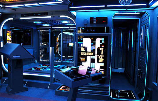 Living room USS Voyager