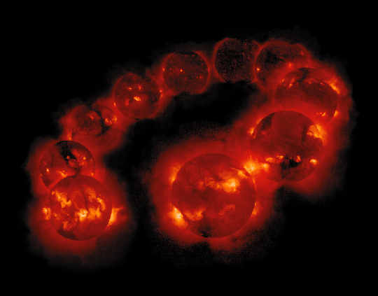 Solar Cycle X-Ray