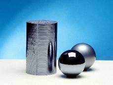 Esferas perfectas de silicio