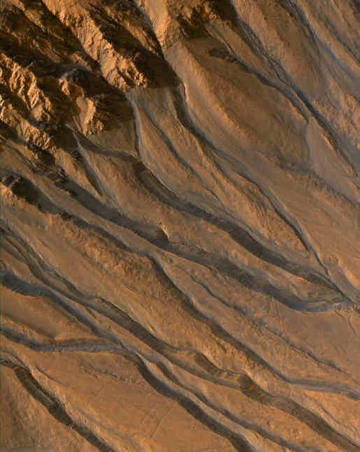 Gullies with Characteristics of Water-Carved Channels