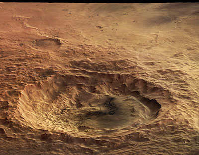 Maunder crater - Credits: ESA/DLR/FU Berlin (G. Neukum)