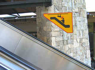 escalera autorreferente