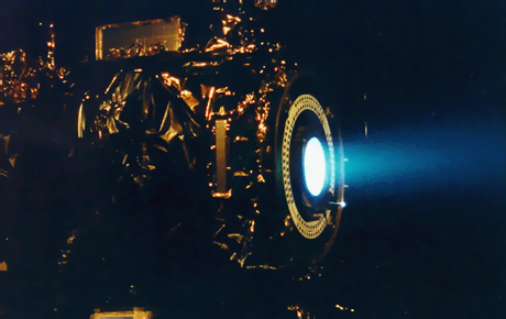 Dawn Ion thrusters