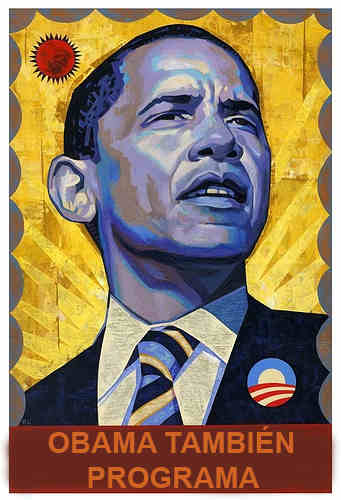 Obama también programa