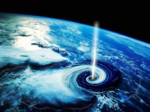 LHC black hole
