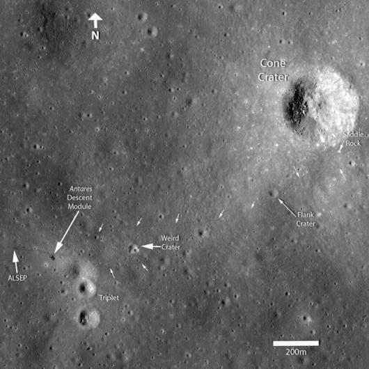 Rastro del Apolo 14