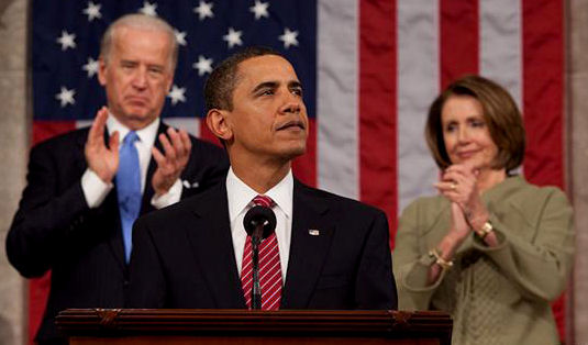 Barack Obama addresses joint session of Congress 2009-02-24