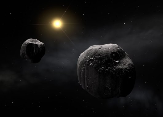 Asteroide doble Antiope