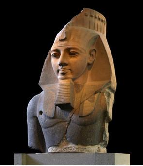 Estatua de Ramsés II en el Museo Británico